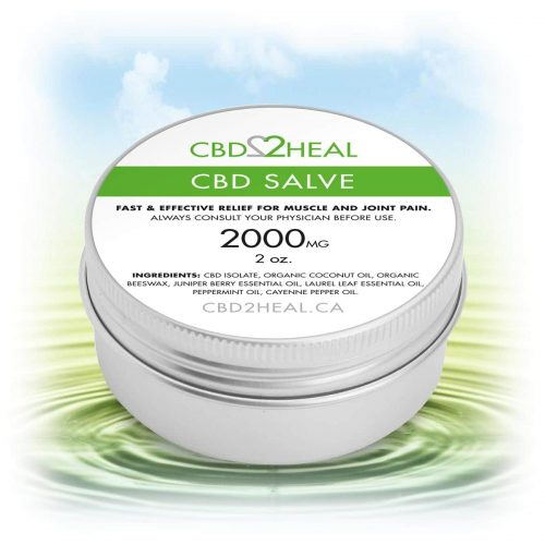 CBD2Heal CBD Pain Relief Cream 2000mg