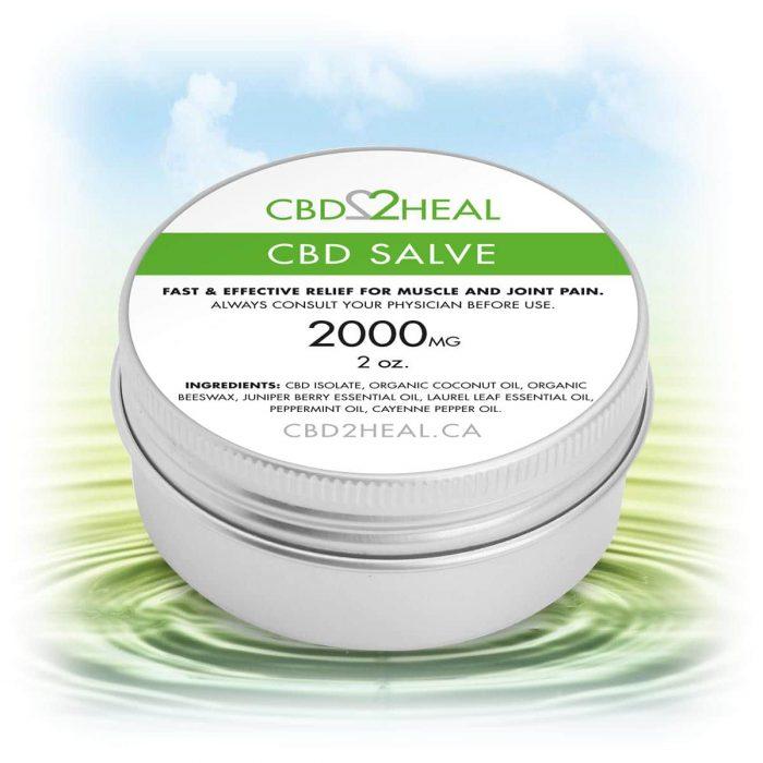 CBD2Heal CBD Pain Relief Cream 2000mg