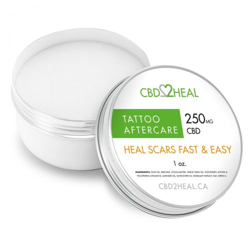 CBD2Heal CBD Tattoo Aftercare Cream 250mg