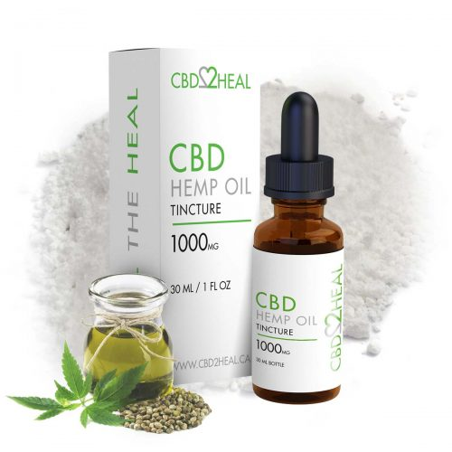 CBD2Heal Pure CBD Oil 1000mg