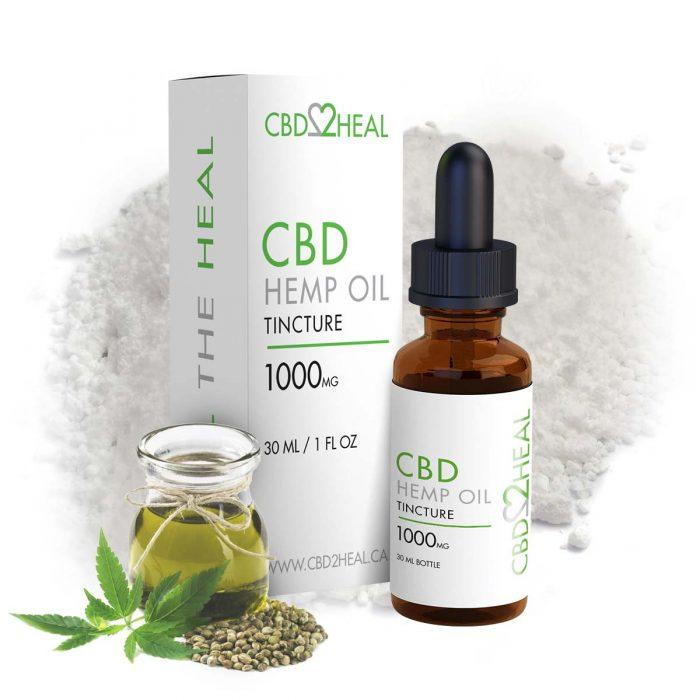 CBD2Heal Pure CBD Oil 1000mg