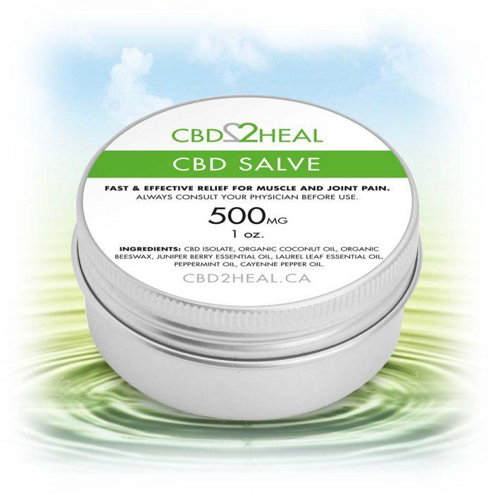 CBD2Heal CBD Pain Relief Cream 500mg