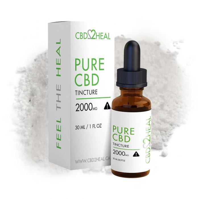 CBD2Heal Pure CBD Oil 2000mg