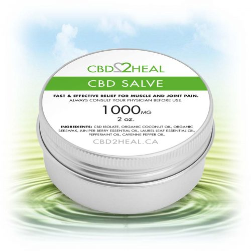 CBD2Heal CBD Pain Relief Cream 1000mg