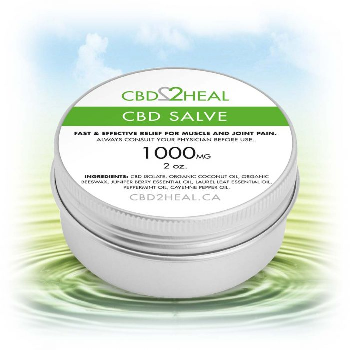 CBD2Heal CBD Pain Relief Cream 1000mg