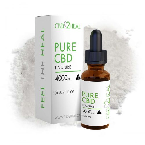 CBD2Heal Pure CBD Oil 4000mg