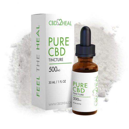 CBD2Heal Pure CBD Oil 500mg